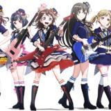 BanG Dream! 2nd Seasonのメインビジュアル