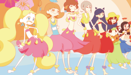 「フライングベイビーズ」のあらすじ見どころポイントまとめ!フラガールを目指す女の子たちが魅力のゆるふわアニメが話題に!