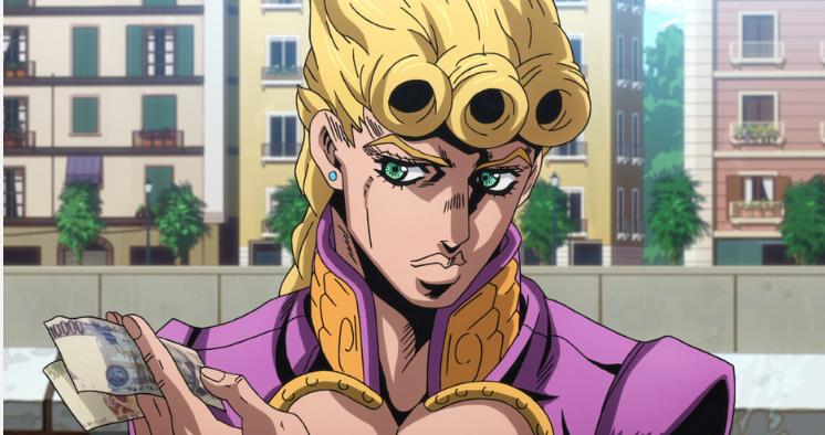 ジョジョの奇妙な冒険 黄金の風 ジョルノ