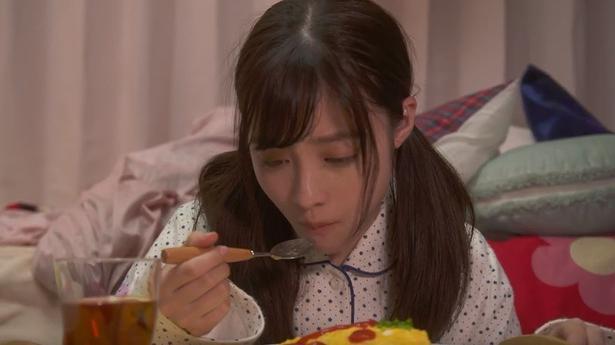 1ページの恋 橋本環奈の可愛すぎる食事シーン