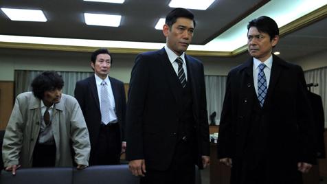 隠蔽捜査 竜崎伸也が陣頭指揮に立つ様子