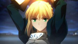 Fate/Zeroのセイバー