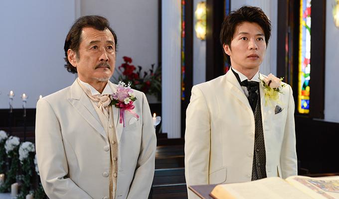おっさんずラブの部長と春田の結婚式