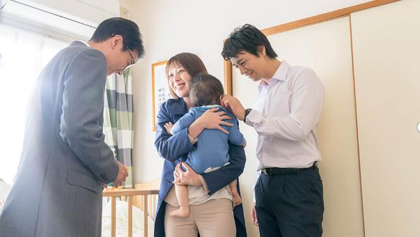 ハラスメントゲームの斎藤工と家族