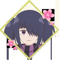 川柳少女の花買タオ