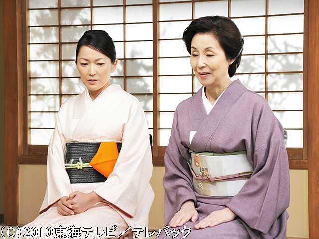 花嫁のれん 大女将の志乃と嫁の奈緒子